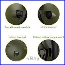 Electronic Ear Muffs Hearing Noise Protection Shooting Hunting Gun Range Muff