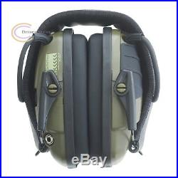 Electronic Ear Muffs Shooting Protection Noise Cancelling Head Gear Impact