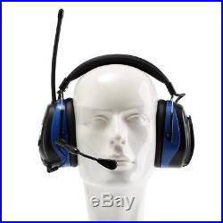 Electronic Hearing Protector Bluetooth Earmuffs with Microphone Noise Reduction