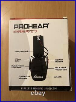 Electronic Shooting Safety Earmuffs Bluetooth Adult Ear Shotgun Range Defender