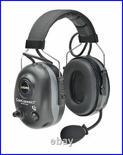 Elvex ComConnect Bluetooth Electronic Headset Earmuffs With Wireless Pairing