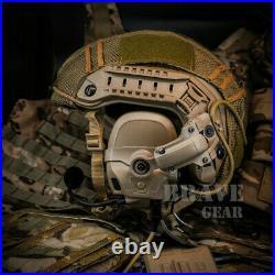 FCS AMP Tactical Military Noise Reduction Communication Headset V20 V60 PTT