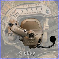 FMA FCS AMP Tactical Headset Communication Noise Reduction V60 PTT Military Gear