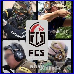 FMA FCS Tactical Headset COMTAC3 Headset Communication Pickup Noise Reduction