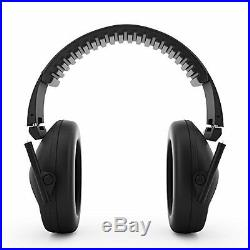 Foldable Shooting Ear Muffs Headphones Hearing Safety Sound Blocking Protection