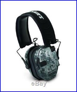 GSM Outdoors GWP-RSEM-KPT Walkers Game Ear Razor Slim Electronic Muff Kryptek