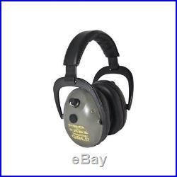 GS-P300-G Pro Ears Predator Gold Series Ear Muffs Green