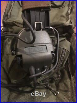 Genuine MSA Sordin Supreme Pro-X Type 75316 OD New PTT Bag Dual Comm