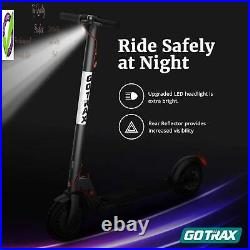 Gotrax Gxl V2 Commuting Electric Scooter 8.5 Air Filled Tires 15.5Mph 9-1