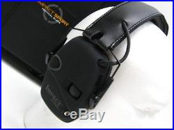 HOWARD LEIGHT Black IMPACT SPORT Electronic Hearing Protection EAR Muffs R-02601