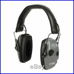 Howard Leight 2 Impact Sport Bolt Digital Electronic Earmuffs, Gray #R-02232 2