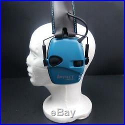Howard Leight By Honeywell Impact Sport Electronic Shooting Earmuffs R-02521Teal