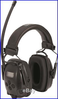 Howard Leight ELECTRONIC & COMMUNICATION EARMUFFS Microphones, FM Radio BLACK
