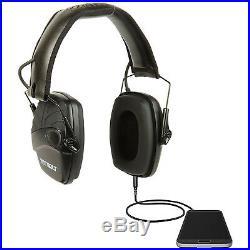 Howard Leight Impact Sport Bolt, Electronic Earmuff, Folding, Black R-02525