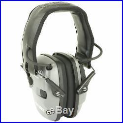 Howard Leight Impact Sport Bolt Electronic Earmuff, NRR 22, Grey (R-02232)