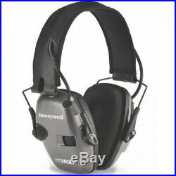 Howard Leight Impact Sport Bolt Electronic Hearing Protection, NRR 22dB, Grey