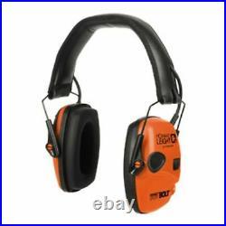 Howard Leight Impact Sport Bolt Orange Electronic Earmuff