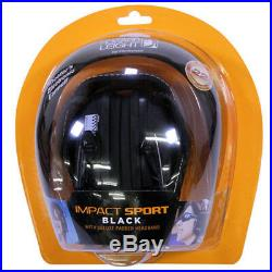 Howard Leight Impact Sport Electronic Earmuff Black