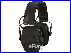 Howard Leight Impact Sport R-02601 Electronic Hearing Earmuffs (NRR 22 dB) Black