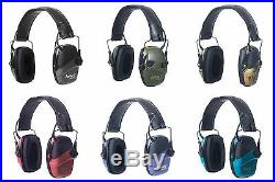 Howard Leight Impact Sport Sound Amplification Electronic Earmuffs, 6 Colors