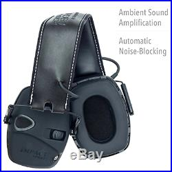 Howard Leight Sound Amplification Electronic Shooting Earmuff With Hard Case
