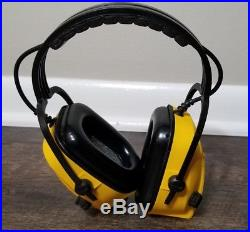 Impact II 707 Electronic Over-the-head Earmuff by Bilsom Yellow Filtering