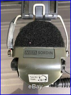 MSA SORDIN Supreme Pro Headset 75305 Electronic ear Protection