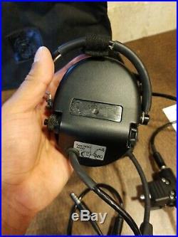 MSA Safety Ear Muffs Sordin Supreme Pro X Green Cups Neckband Electronic
