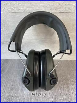 MSA Sordin Basic Electronic Hearing Protection OD Green Ships FREE
