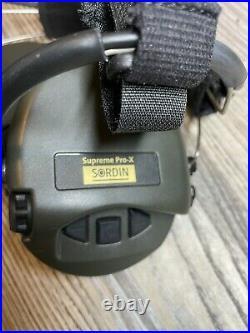MSA Sordin Neckband type Supreme Pro-X 76302-x-10