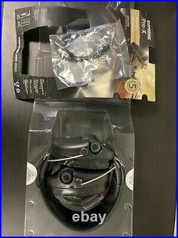 MSA Sordin SOR75302XL02G Ear Muffs with Leather Band Black