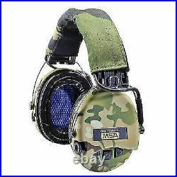 MSA Sordin SOR75302-X-07 Supreme Pro X Ear Protector with Gel Cushion Green C