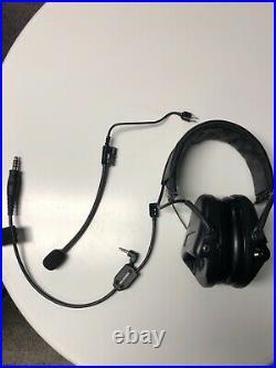 MSA Sordin SOR75302-X Supreme Pro hearing protector Black with comm attachment