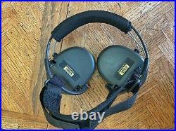 MSA Sordin Supreme PRO-X Neckband Green with Gel Ear Cup