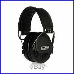 MSA Sordin Supreme Pro Electronic Earmuff for Hunting & Shooting, Black