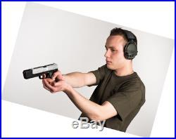 MSA Sordin Supreme Pro Electronic Earmuff for Hunting & Shooting, Black Editio