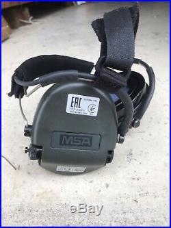 MSA Sordin Supreme Pro Neckband MSA Gel Cups NRR 19dB EARMUFF