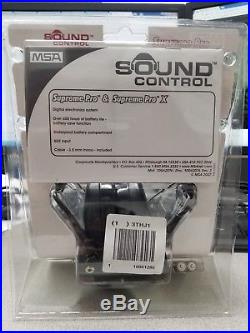 MSA Sordin Supreme Pro Premium Edition Electronic Earmuff with black he