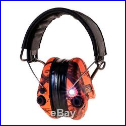 MSA Sordin Supreme Pro-X Blaze with LED, Leather Headband and Gel Earseals