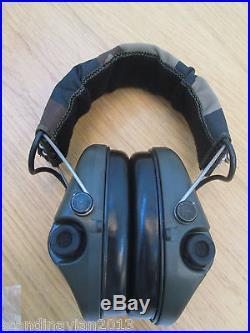 MSA Sordin Supreme Pro X Ear Muffs CAMO GEL Made in Sweden