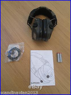 MSA Sordin Supreme Pro X Ear Muffs CAMO Made in Sweden