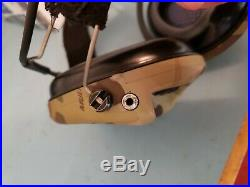 MSA Sordin Supreme Pro X Electronic Earmuff Neckband Version Multicam Foam