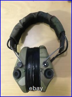 MSA Sordin Supreme Pro X LED Ear Protector with Gel Cushion Camo