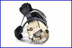MSA Sordin Supreme Pro X Neckband CAMO Edition Electronic Earmuff slim