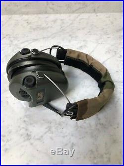 MSA Sordin Supreme Pro X (Premium Edition) Electronic Earmuff Green Camo-Band