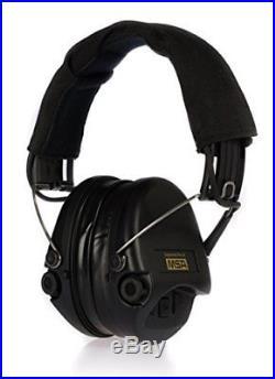 MSA Sordin Supreme Pro X Premium Edition Electronic Earmuff with black hea