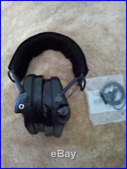 MSA Sordin Supreme Pro X Premium Edition Electronic Earmuff with black headb
