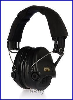 MSA Sordin Supreme Pro X Premium Edition Electronic Earmuff with black headband