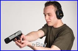 MSA Sordin Supreme Pro X Premium Edition Electronic Earmuff with black lea