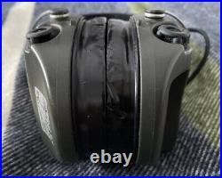 MSA Sordin Supreme Pro X Shooting Headset Earmuff Ear Protection 75302 Black